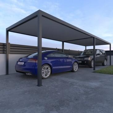 Abrigo de carro em alumínio...