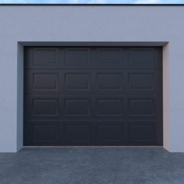 Porta de garagem seccionada...