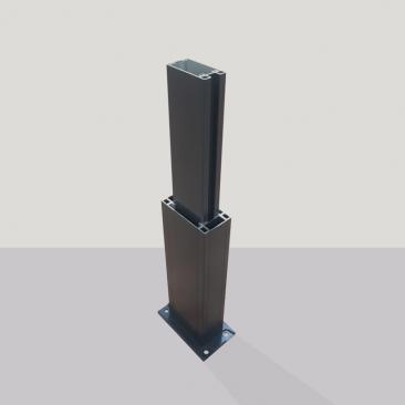 (Opção) Aumento de pilar...