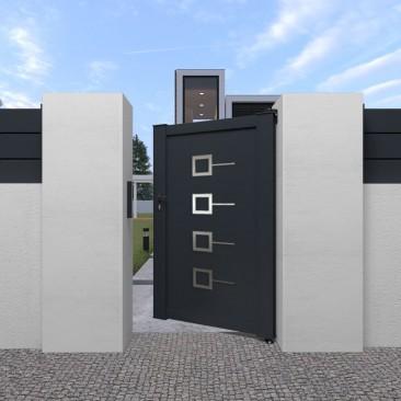 Portão Pedonal Decornox...