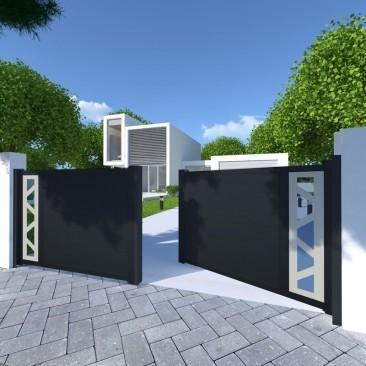 Portão Perso+ Inverso...