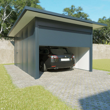 Garagem Telhado Plano